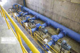 مخزن آب شهرک اسلامیه مهران با ۸۵ درصد پیشرفت در حال اجراست