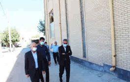 بازدید مدیرکل راه و شهرسازی استان از روند ساخت مساجد جامع شهرهای ایوان و چوار