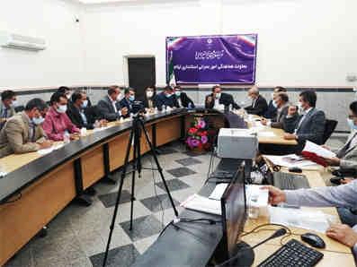 بررسی ۲۱ طرح در کارگروه امور زیربنایی استان ایلام