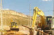 اصلاح ۱۰۰ شبکه آب در خیابان شهید ربابه کمالی