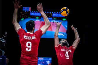 آمریکا هم تسلیم شد؛ پنجمین پیروزی پیاپی برای والیبال ایران
