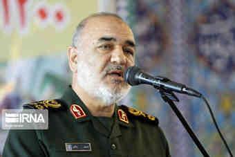 پیام تبریک فرمانده کل سپاه به رییسی