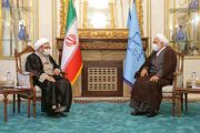آیتالله آملی لاریجانی با رئیس قوه قضائیه دیدار کرد