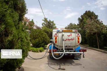 ۱۰ تانکر آبرسانی از ایلام به خوزستان ارسال شد