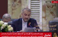 ایران حامی امنیت، استقلال و وحدت سرزمینی عراق است